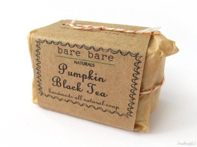 Bare Bare Naturals Pumpkin Black Tea Soap