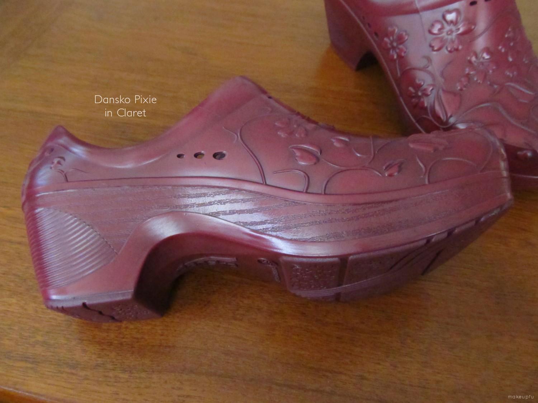 Dansko Shoes Dansko Purple Leather Wrap Buckled Mid Calf Boots