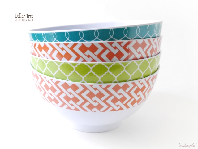 Dollar Tree Haul June 2015: Asian inspired bowls.