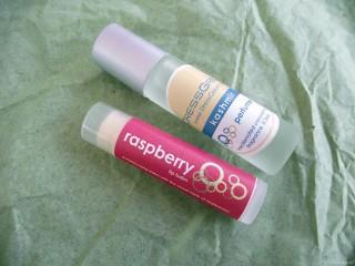 DressGreen Lip Balm in Raspberry and Perfume Oil in Kashmir