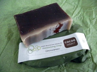 DressGreen soap in <i>Cocoa Addict</i>