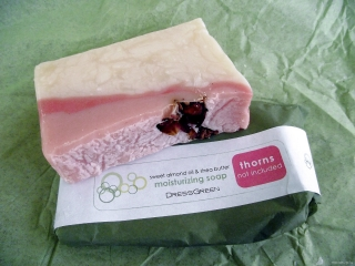 DressGreen soap in <i>Thorns Not Included</i>