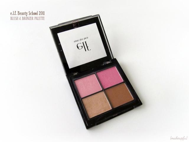 e.l.f. Beauty School 2011 Blush & Bronzer Palette