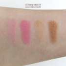 Swatches of the e.l.f. Beauty School 2011 Blush & Bronzer Palette