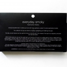 Box packaging of the e.l.f. Everyday Smoky Eyeshadow Palette [Reverse]