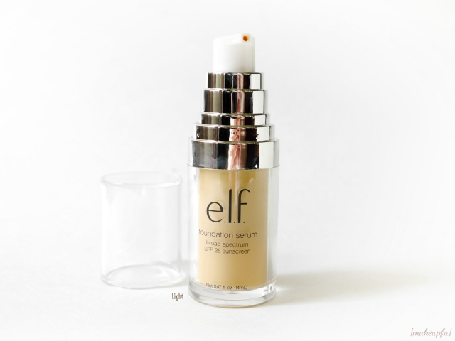 e.l.f. Beautifully Bare Foundation Serum in Light