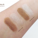 Swatches of the e.l.f. Holiday 2014 Shimmer Eyeshadow [Online Version]