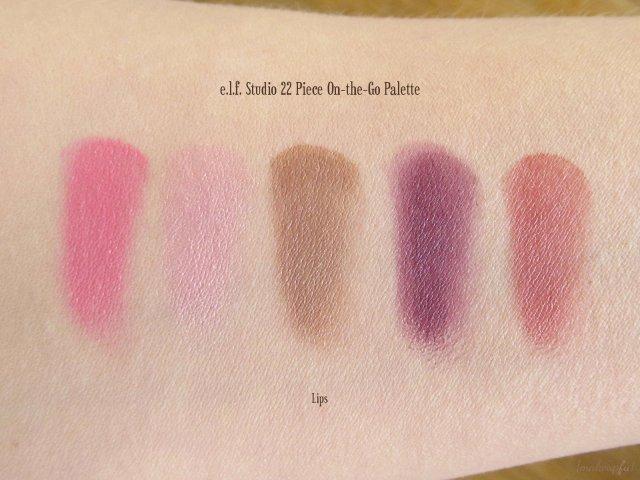 e.l.f. Studio 22 Piece On-the-Go Palette: Lips