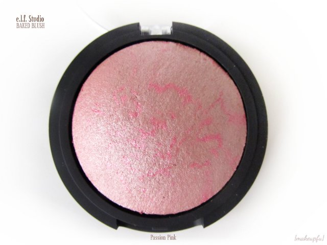 e.l.f. Studio Baked Blush in Passion Pink