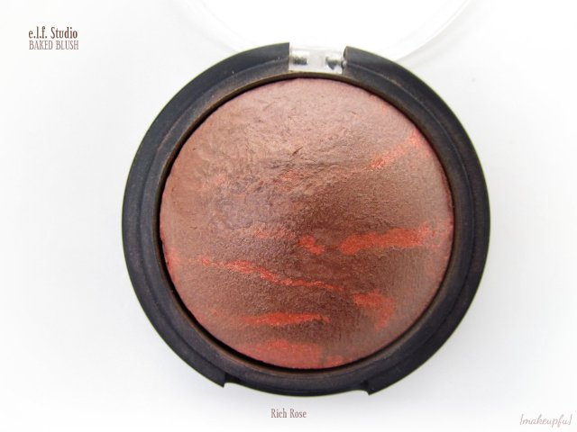 e.l.f. Studio Baked Blush in Rich Rose