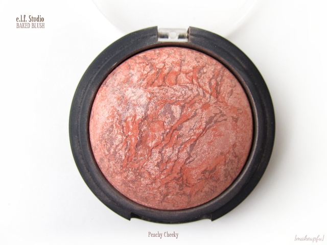 e.l.f. Studio Baked Blush in Peachy Cheeky