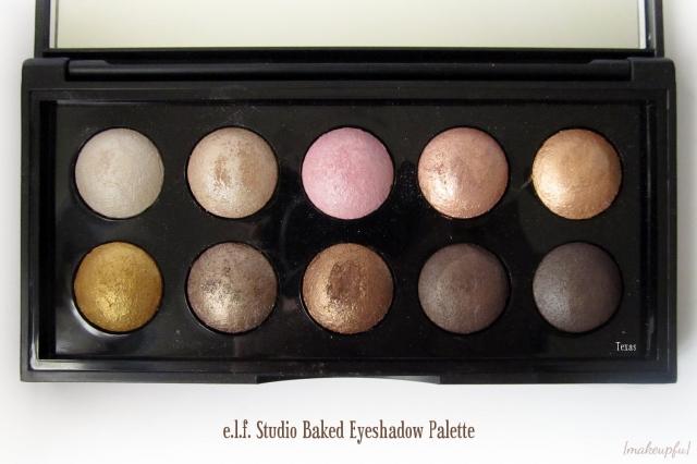 e.l.f. Studio Baked Eyeshadow Palette in Texas