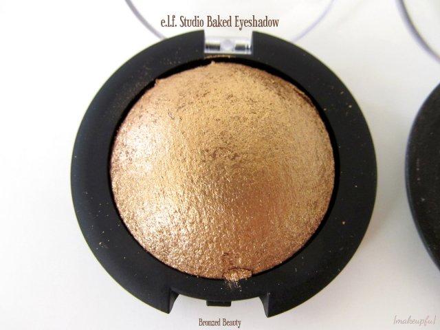 e.l.f. Studio Baked Eyeshadow in Bronzed Beauty