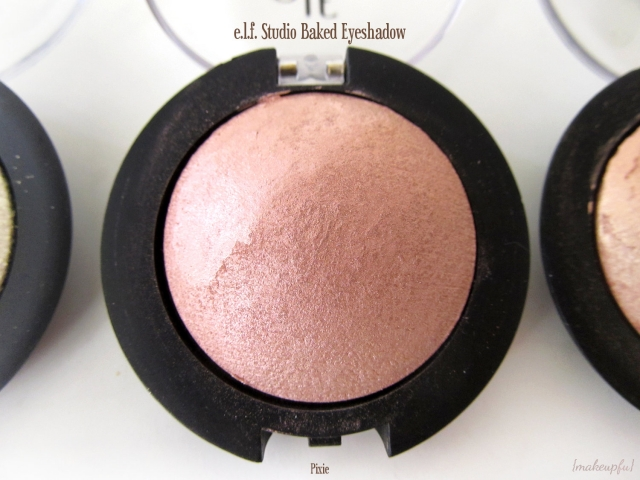 e.l.f. Studio Baked Eyeshadow in Pixie