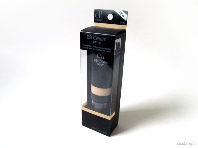 Packaging of the e.l.f. Studio BB Cream
