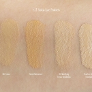e.l.f. Studio Face Swatches: BB Cream, Tinted Moisturizer, HD Mattifying Cream Foundation, and Flawless Finish Foundation