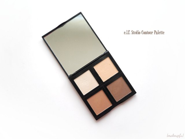 More color accurate view of the e.l.f. Studio Contour Palette