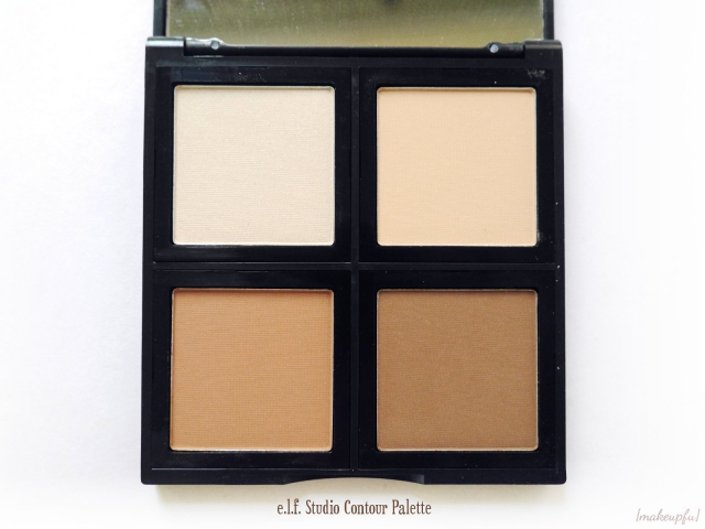 Closeup of the e.l.f. Studio Contour Palette