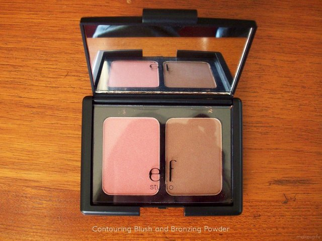 e.l.f. Studio Contouring Blush and Bronzing Powder in St. Lucia