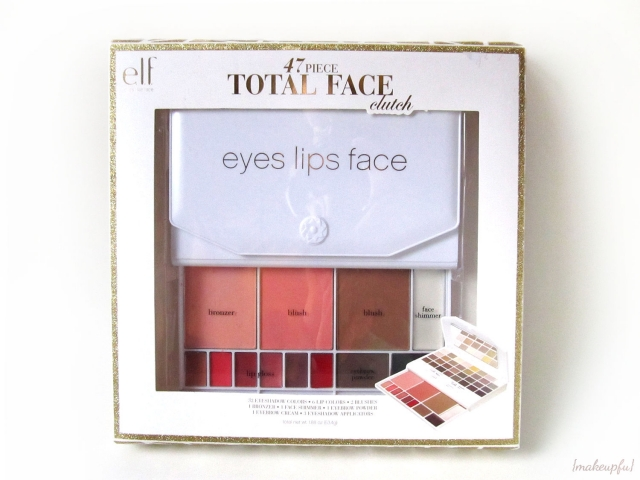 e.l.f. Studio Holiday 47 Piece Total Face Clutch