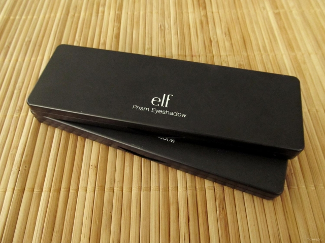 Packaging of the e.l.f. Studio Prism Eyeshadows