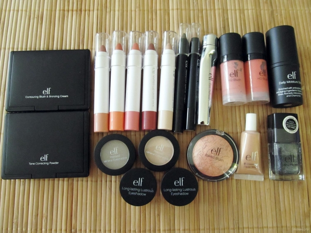 My Black Friday 2012 e.l.f. Haul