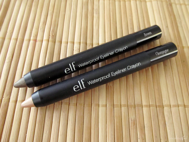 e l f studio waterproof eyeliner crayon review makeupfu. Black Bedroom Furniture Sets. Home Design Ideas