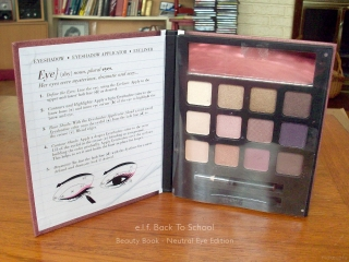 e.l.f. 2010 Back To School Beauty Book: Neutral Eye Edition Swatches