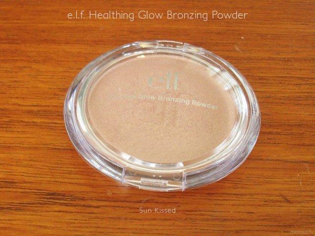 e.l.f. Healthy Glow Bronzing Powder in Sun Kissed