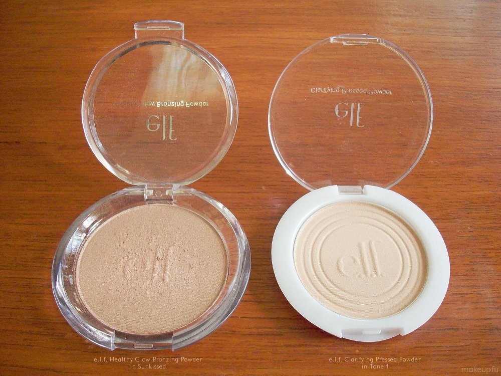 E.L.F Healthy Glow Bronzing Powder in Sun Kissed: Review ...
