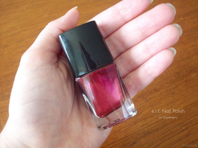 e.l.f. Nail Polish in Cranberry