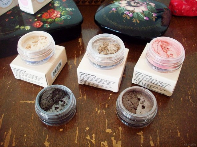 e.l.f. Mineral Eyeshadow: Elegant, Celebrity, Sweet, Socialite, Confident