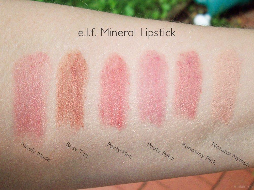 e.l.f. Studio Mineral Lipstick |