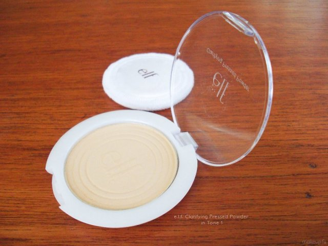 e.l.f. Clarifying Pressed Powder in Tone 1