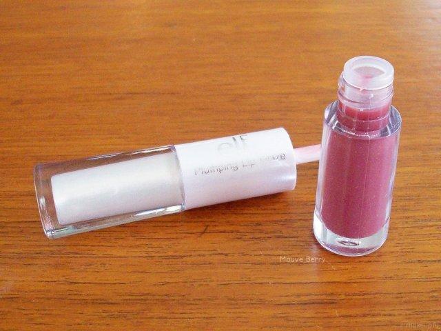 e.l.f. Plumping Lip Glaze in Mauve Berry