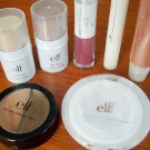 e.l.f. Mini Haul: Clarifying Pressed Powder, All Over Cover Stick, All Over Colour Stick, Duo Eye Shadow Cream, Plumping Lip Glaze, Super Glossy Lip Shine, Therapeutic Conditioning Lip Balm