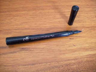 e.l.f. Essential Waterproof Eyeliner Pen in Black