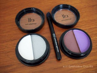 2009 Holiday Limited Edition e.l.f. Eyeshadow Duo Kit