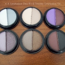 2009 Holiday Limited Edition e.l.f. Eyeshadow Duo Kit and Smokey Eyeshadow Kit