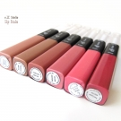 e.l.f. Studio Lip Stain in Heartbreaker, Mysterious, Lucky Lady, Fashionista, First Date, and Red Carpet.