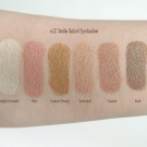 Foiled swatches of the e.l.f. Studio Baked Eyeshadow: Moonlight Serenade, Pixie, Bronzed Beauty, Enchanted, Toasted, Bark