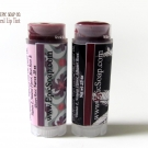 Reverse of the Epically Epic Soap Co. All Natural Lip Tints in Graciela and Odile