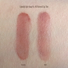 Swatches of the Epically Epic Soap Co. All Natural Lip Tints in Graciela and Odile