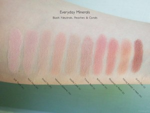 Everyday Minerals Blush: Neutrals, Pinks & Corals