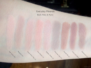 Everyday Minerals Blush: Pinks & Plums