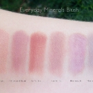 Everyday Minerals Blush Swatches: Theme Park, Once and Again, Girl's Day, Flannel PJs, Homework, Morning Cup