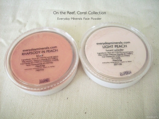 Everyday Minerals On the Reef, Coral Collection: Light Peach, Rhapsody in Peach