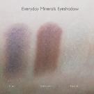 Everyday Minerals Eyeshadow Swatches: Rare Silk, Wildflowers, Diary