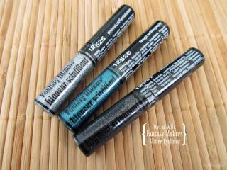 Wet n Wild Fantasy Makers Glitter Eyeliner in Whimsical, Magical and Fantastical