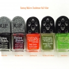"Wet n Wild Fantasy Makers Tombstone Polish: ""Darkest Hour"", ""Once Upon a Time"", ""Goosebump Suit"", ""Glo' Money, Glo' Problems"", and ""Roach Busters"""